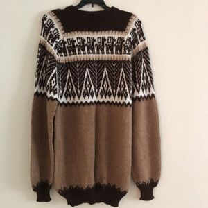 Soft Brown Oversized Sweater